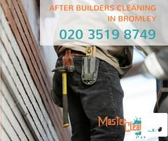 Reliable after builders cleaners Bromley