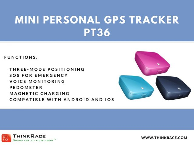 PT36 mini personal gps tracker 3 Image