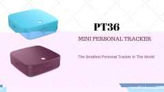 Mini Personal GPS Tracker PT36  Small personal GPS