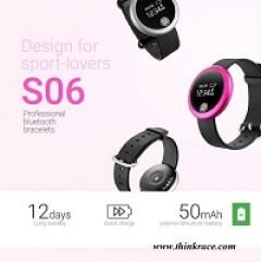 Smart Fitness Bracelet S06  Your personal fitness play