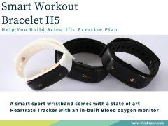 Smart Workout Bracelet H5 For Sports Lover