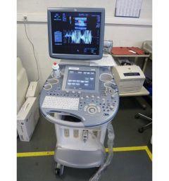Ultrasoun system GE Voluson E8, 2012 YOM, with probes