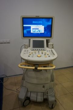 Ultrasound system Philips IU22, 2009 year, with probes
