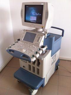Ultrasound system Toshiba Aplio XV, 2009 year