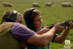 Clay Pigeon Shooting Instruction at AA Shooting  School