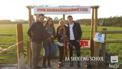 Clay pigeon shooting prices from AA Shooting School, UK
