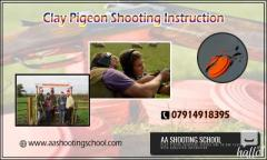 Clay Pigeon Shooting Instruction from Expert Trainer