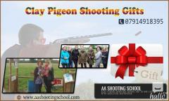 Clay Pigeon Shooting Gifts from AA Shooting School