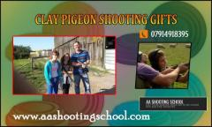 Surprise your loving one with Clay Pigeon Shooting Gift
