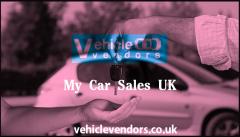 My Car Sales UK  Vehicle Vendors