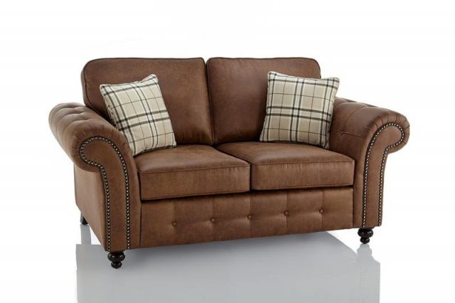 Shop Online Oakland Faux Leather 2 Seater Sofa Borehamwood Hertfordshire Hallo