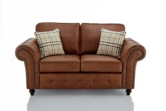 Buy Modern Oakland Faux Leather 3 Seater Sofa