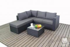 Procure Beautiful Outdoor Small Corner Sofa Set