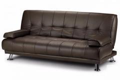 Get Designer Montana 3 Seater Faux Leather Sofa