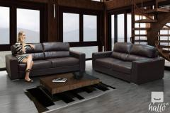 Stylish And Contemporary Wagner Bonded Leather S