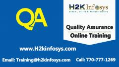 QA Training from H2K Infosys
