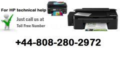 HP Printer Customer Care number for UK 44-808-280-2972