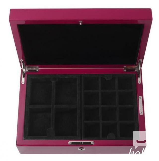 Brand New Wooden Lacquered Classic Red Watch Box 4 Image