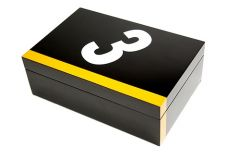 Buy Brand New Abbey Wooden Lacquered Cufflink Box
