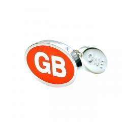 Brand New GB Solid Sterling Silver Cufflinks for Men