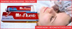 Pain Free Microblading Treatmeant with Mr.  Numb Cream