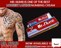 End the pain say it Mr. Numb is the best numbing cream
