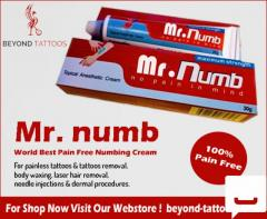 Numb Pains With Mr. Numb