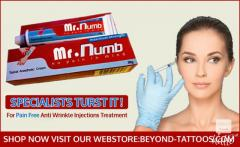 Mr.Numb pain free numbing cream for Anti Wrinkle