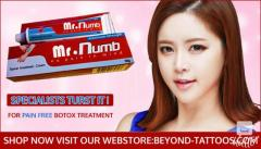 Mr.Numb pain free numbing cream for Botox