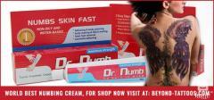 Dr. Numb is World Best Numbs Skin Fast Numbing cream