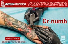Tattoos Artists Recommends Dr. Numb, For Painless
