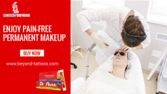 Enjoy pain-free Permanent Makeup with Dr. Numb  Beyond