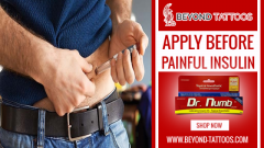 Apply Dr. Numb Before Painful Daily Shots Of Insulin