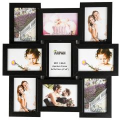 Multi Aperture Family Photo Frame for 9 Photos