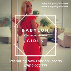 New London Escorts Wanted - Top London Agency
