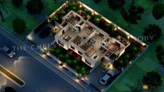 3D Restaurant Floor Plan Services
