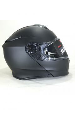 MOTORCYCLE HELMET-VCAN V271 LIGHTING BLUES FLIP FRONT