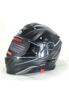 VCAN BLUETOOTH HELMET V271 FLIP FRONT LIGHTING MOTIRCY