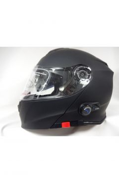 VIPER MOTORCYCLE HELMET RSV171 BLUETOOTH- MATT BLACK
