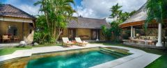 Luxury Bali villas with private pools in Seminyak.