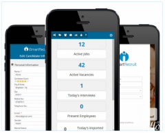 Mobile Recruiting Software For Hire Candidate - iSmartR