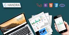 Chandra - Laravel Admin UI Starter Kit