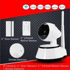 Home Security Camera Kit Alarm Smart Wireless Burglar W