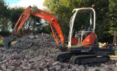 Mini Digger Hire Services Barnsley