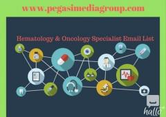 Hematology & Oncology Specialist Email List in UK