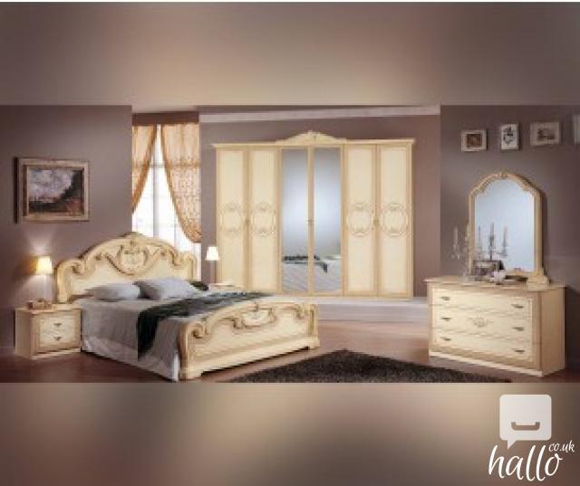 Gioia Cream Italian Bedroom Set 01 East Ham Greater London Hallo