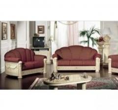 Rossella Italian Fabric 3  2  1 Sofa Set