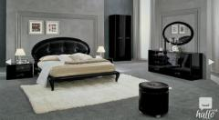 Magic Black or Ivory Bedroom Collection