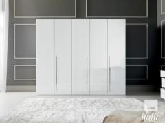 Status Dream Wardrobe In White High Gloss