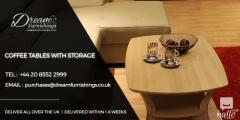 Buy Our Best Coffee Tables With Storage In Uk